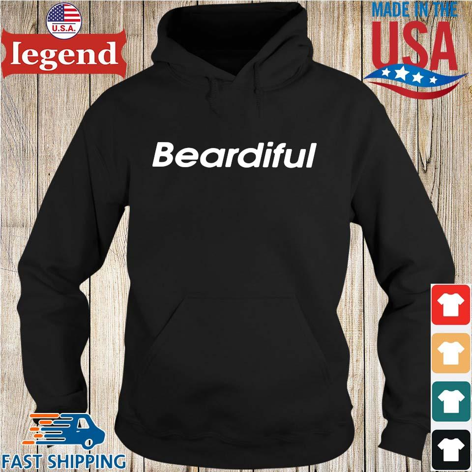 Beardiful Black Shirt Hoodie den