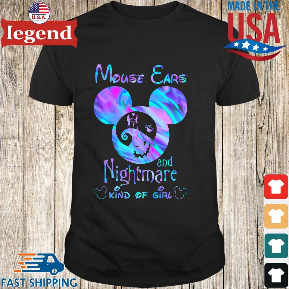 Mouse Ears And Nightmare Kind Of Girl Shirt