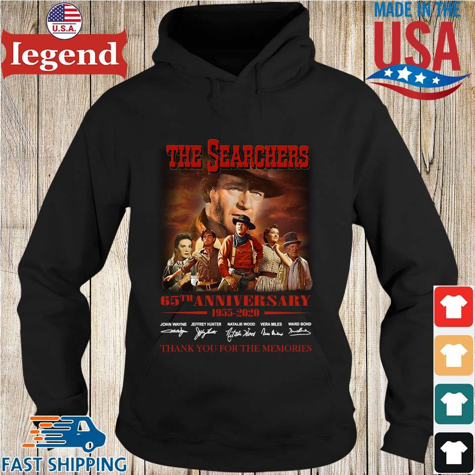 The Searchers 65th Anniversary 1955 2020 Signature Thank You For The Memories Shirt Hoodie den