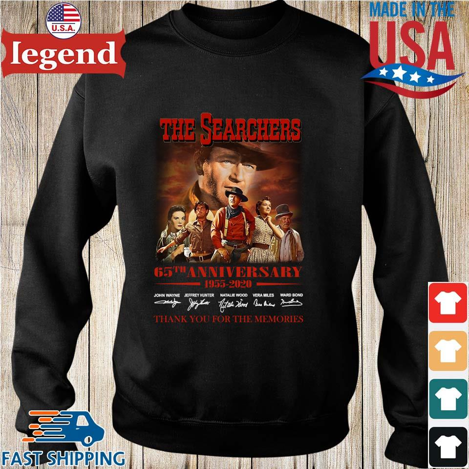 The Searchers 65th Anniversary 1955 2020 Signature Thank You For The Memories Shirt Sweater den
