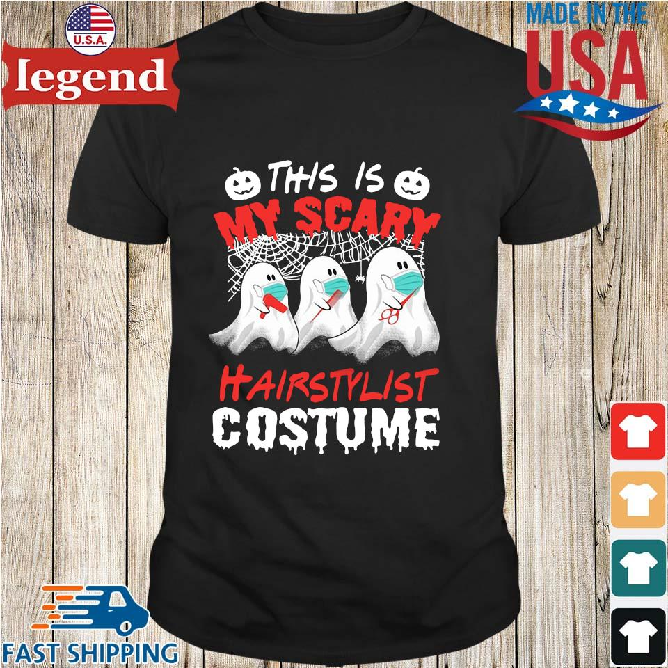 This is my scary hair stylist costume Halloween shirt