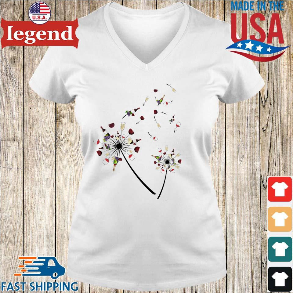 Dandelion Wine flower s Ladies V-Neck