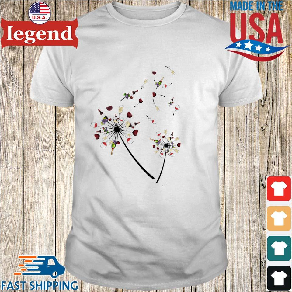 Dandelion Wine flower shirt