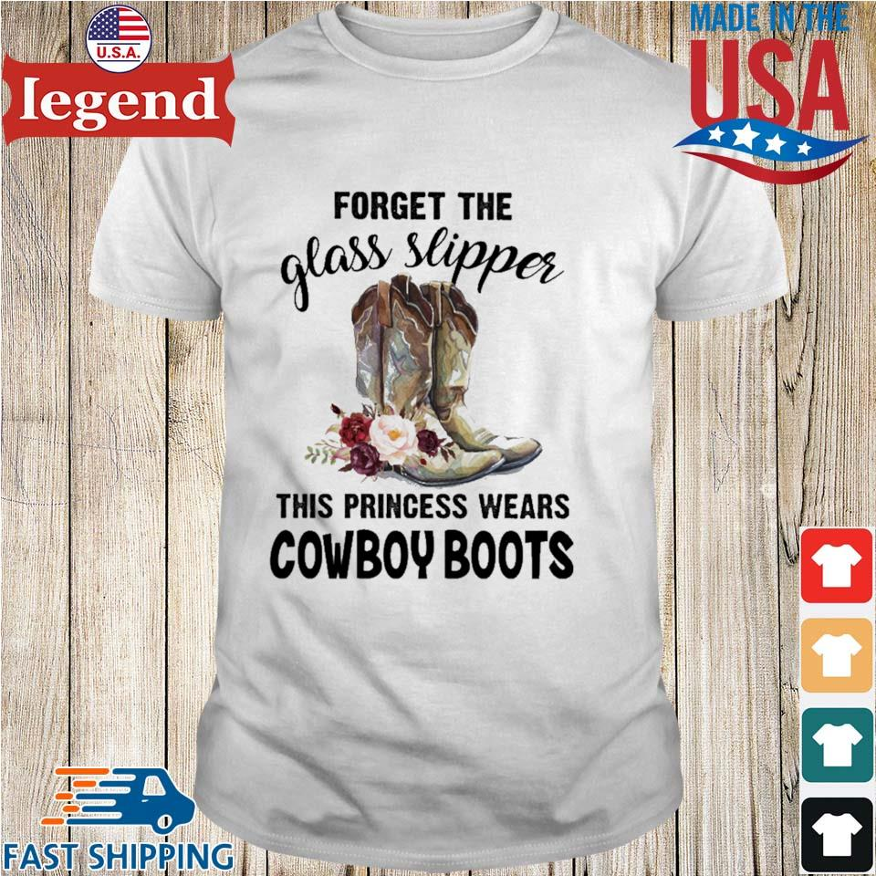 Forget the glass slipper this princess wears cowboy boots flower shirt