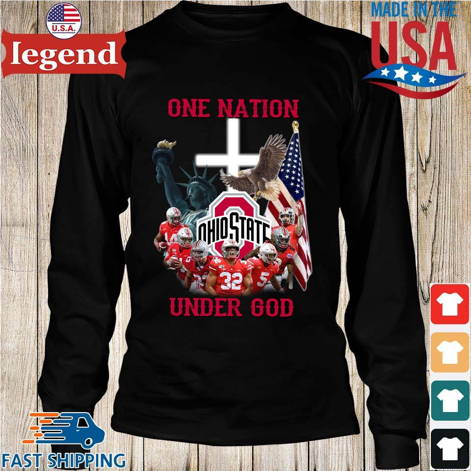 Ohio State Buckeyes one nation under god s Longs den