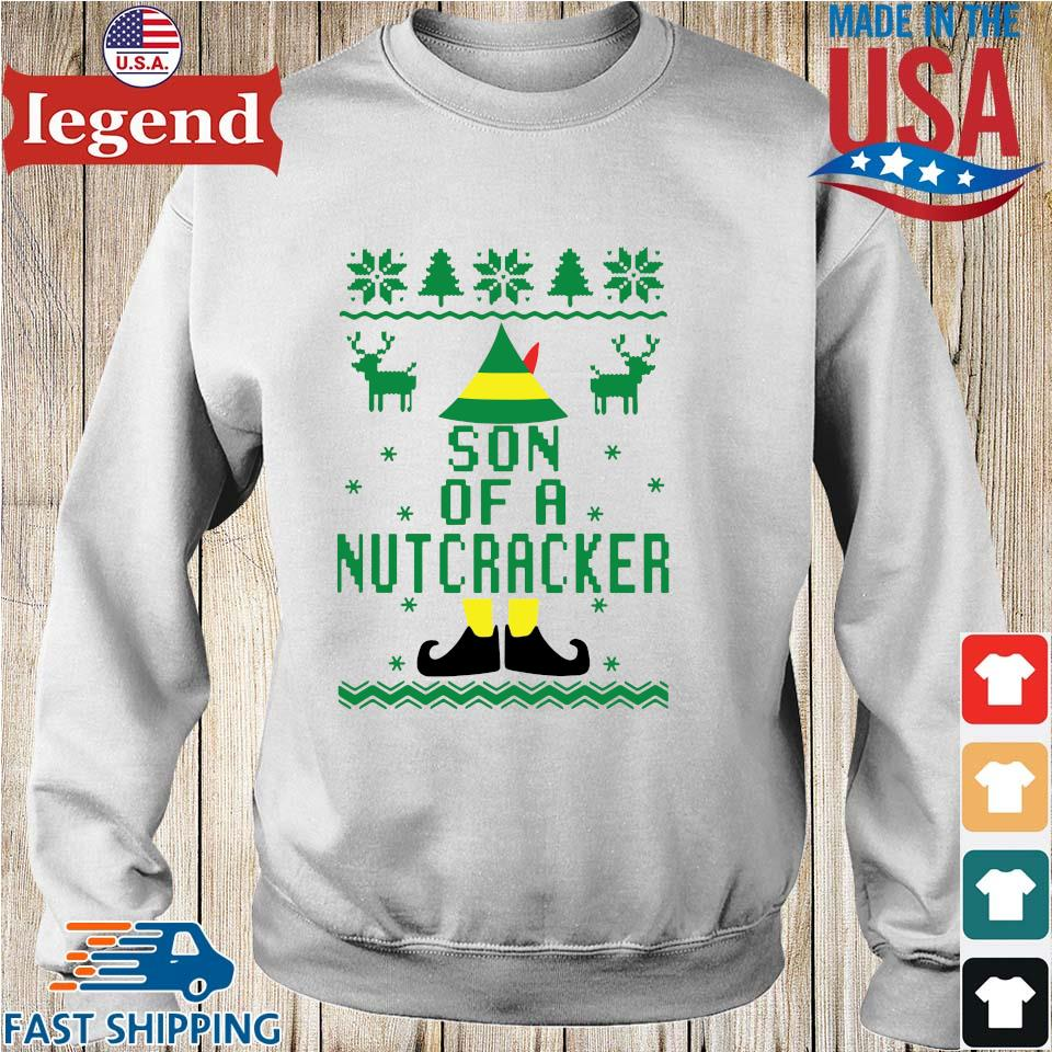 Elf Son Of A Nutcracker Ugly Christmas Sweater