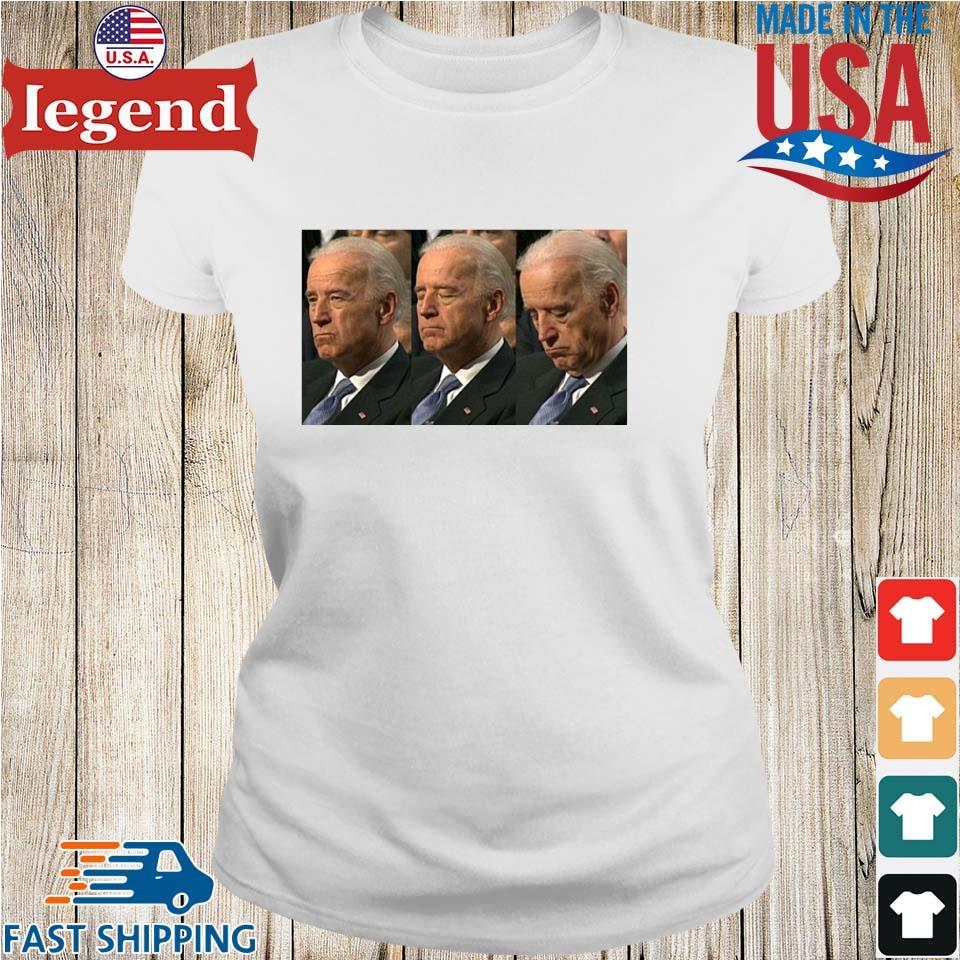 Sleepy Joe Biden Political Shirt Ladies trang