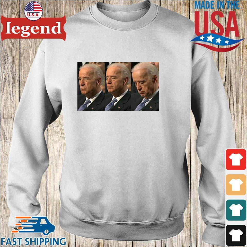 Sleepy Joe Biden Political Shirt Sweater trang