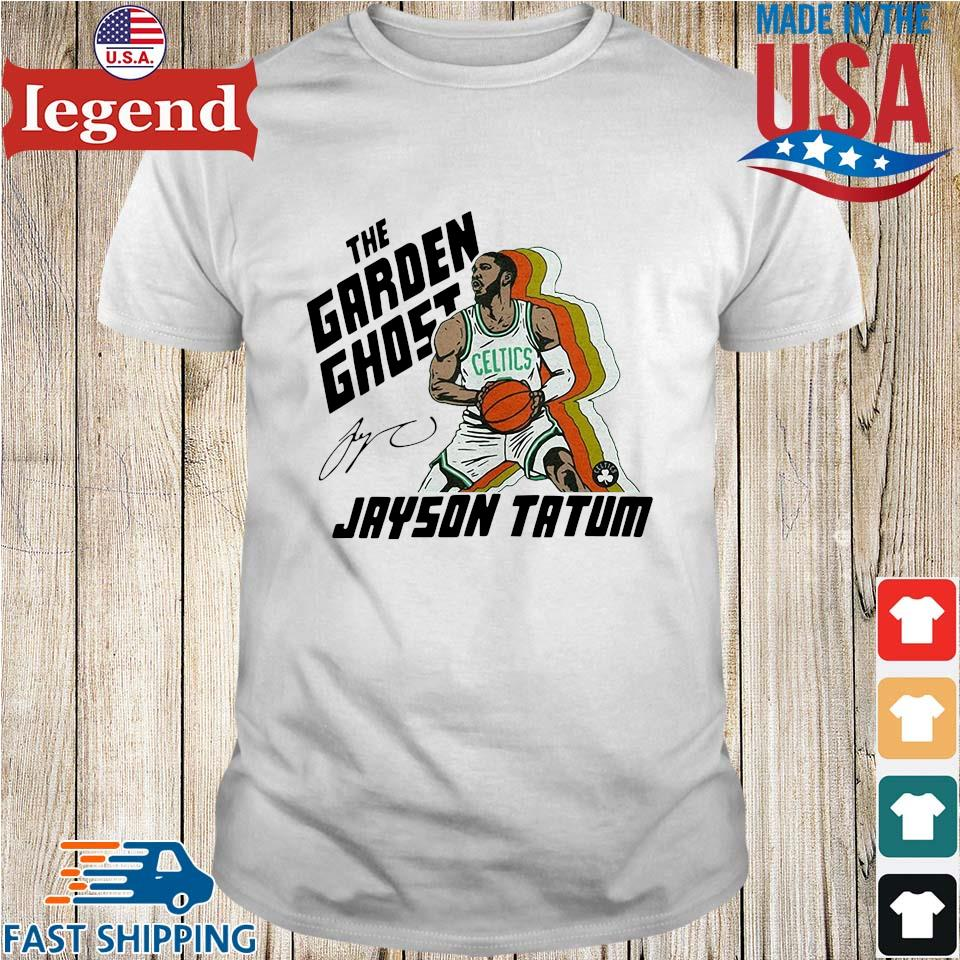 The garden ghost Jayson Tatum signatures shirt