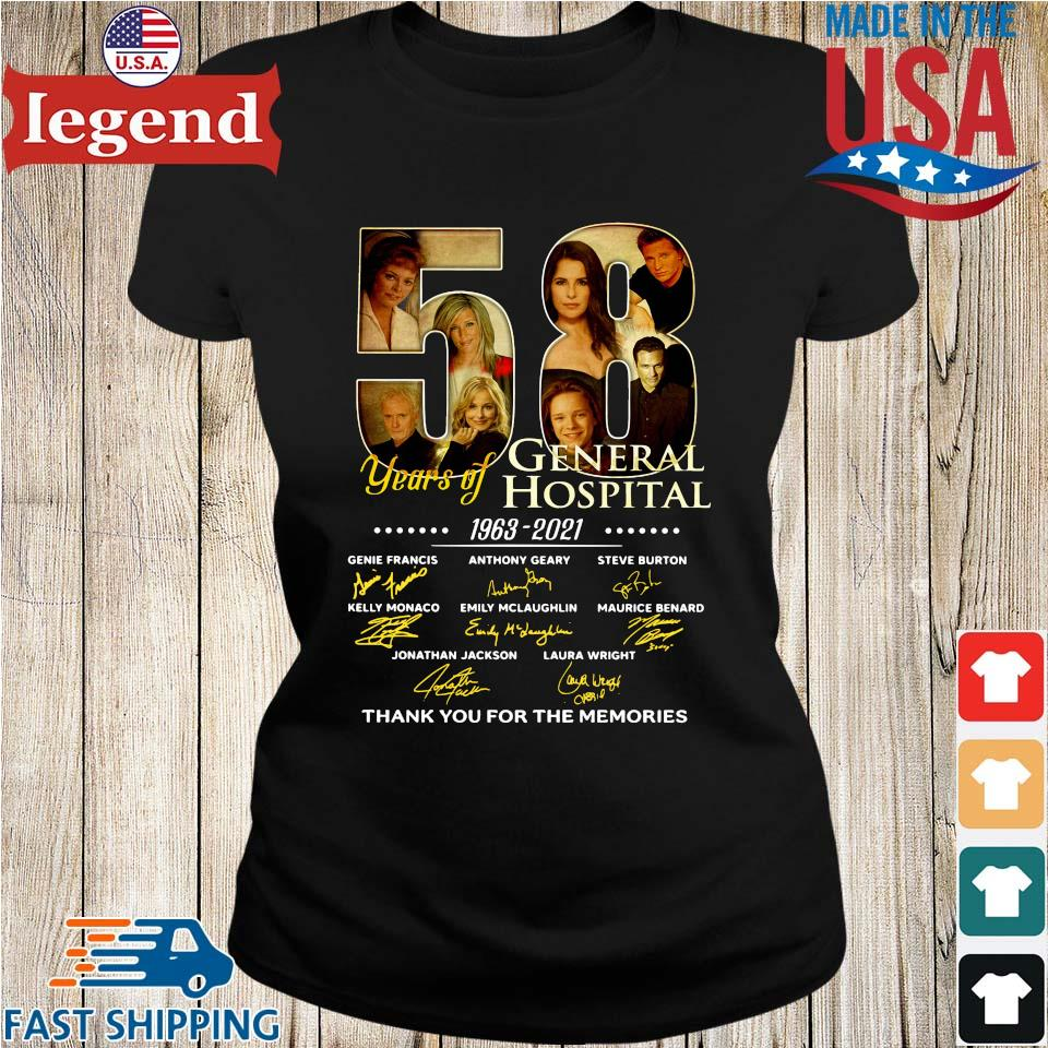 58 years of General Hospital 1963-2021 thank you for the memories signatures Ladies den-min