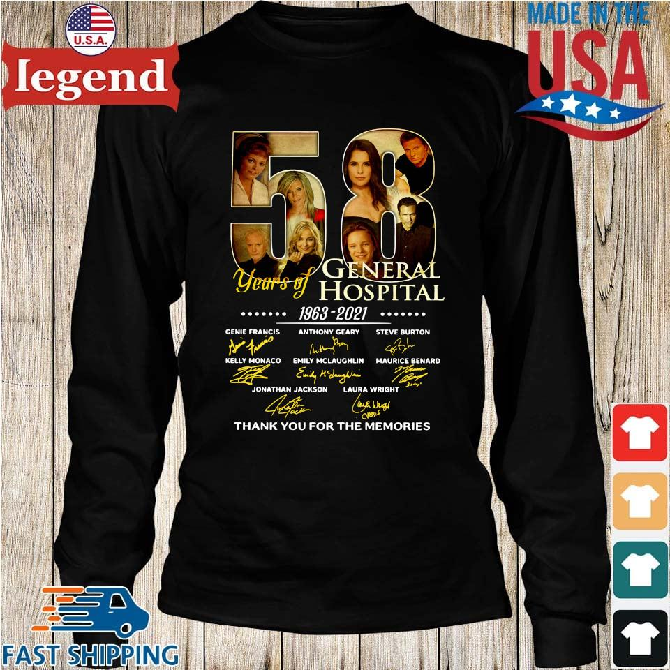 58 years of General Hospital 1963-2021 thank you for the memories signatures Longs den-min