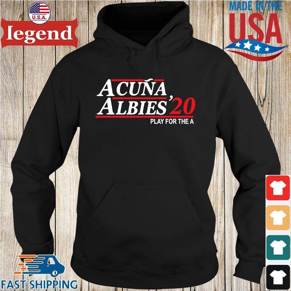 Acuna albies '20 play for the a Hoodie den-min
