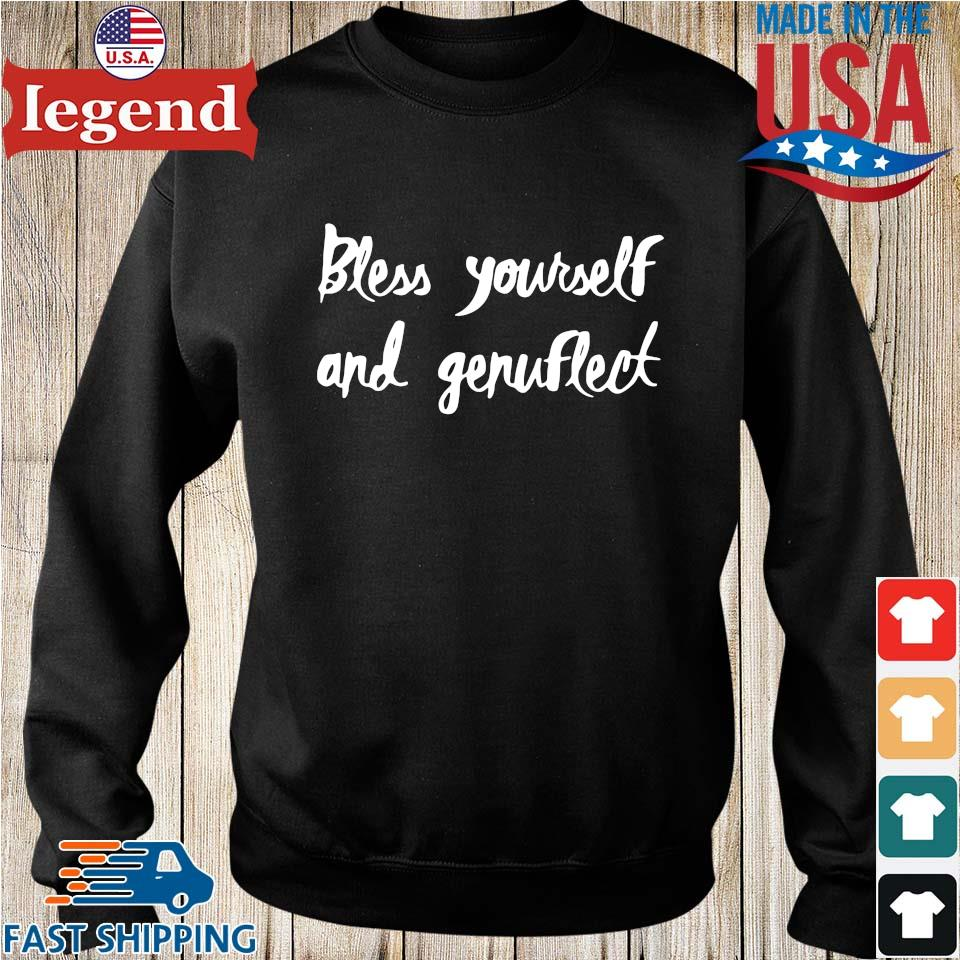Bless yourself and genuflect Sweater den-min