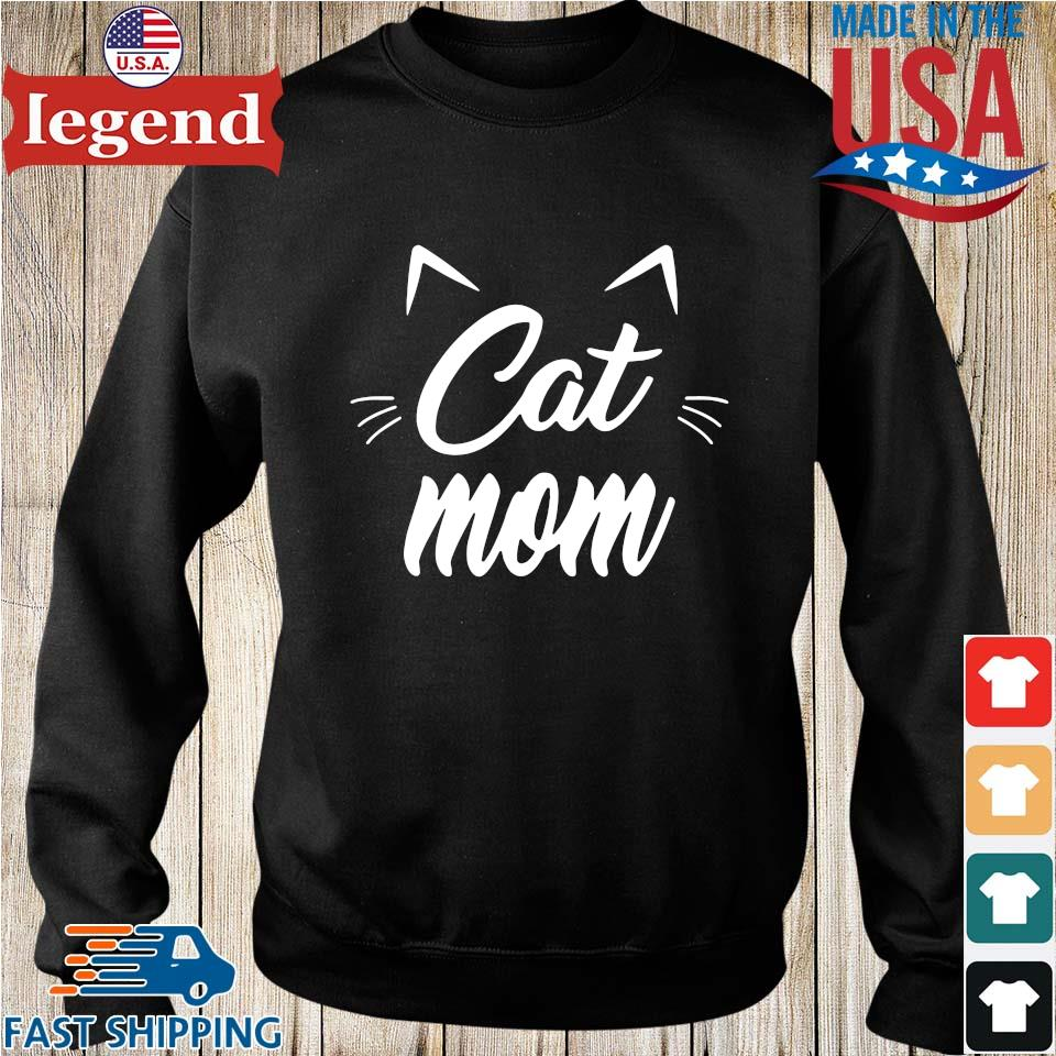 Cat Mom Happy Mothers Day Shirt Sweater den-min