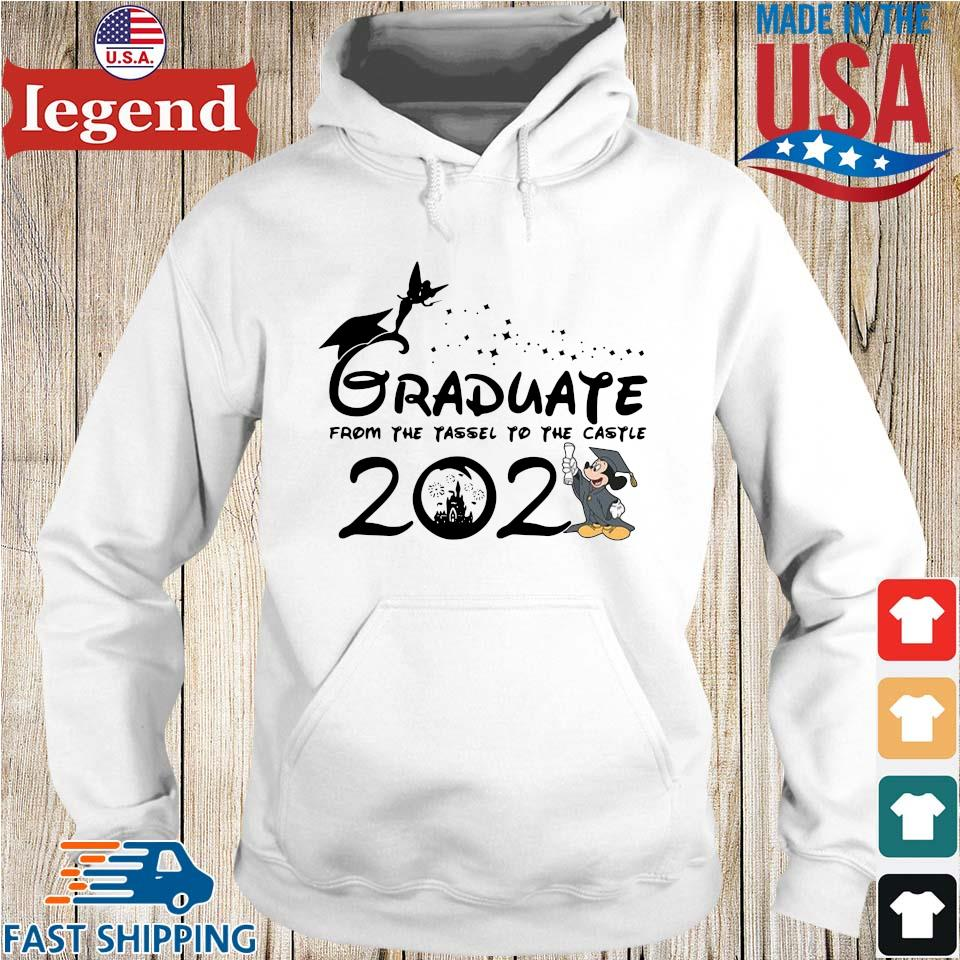 Graduate from the tassel to the castle 2021 Hoodie trang-min