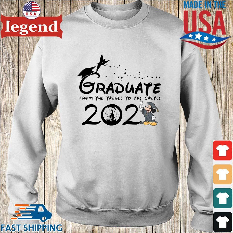 Graduate from the tassel to the castle 2021 Sweater trang-min