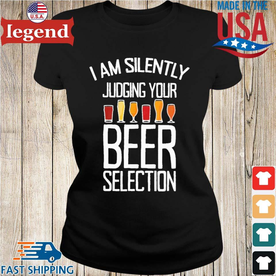 I am silently judging your beer selection Ladies den-min