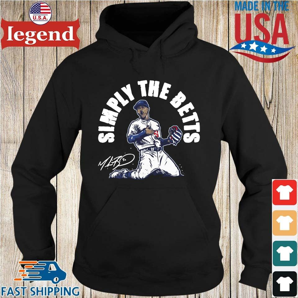 Mookie Betts simply the betts signature Hoodie den-min