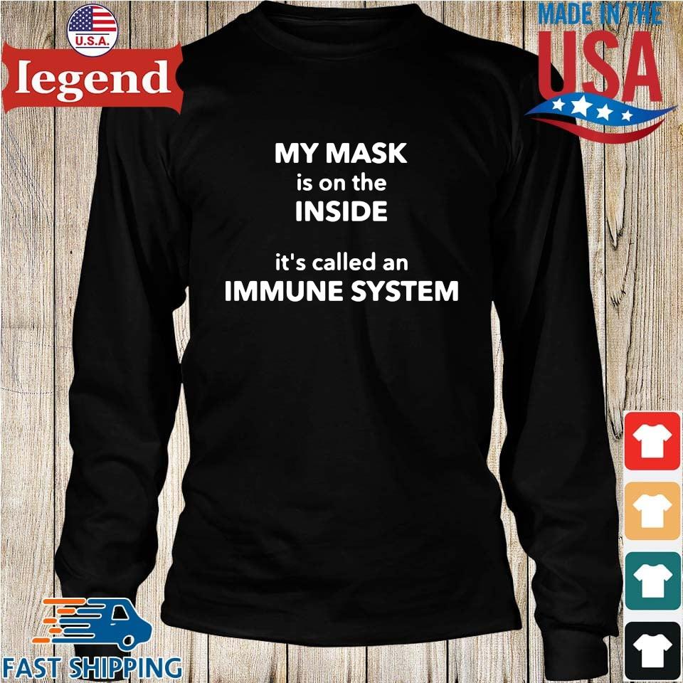 My mask is on the inside it's called an immune system Longs den-min