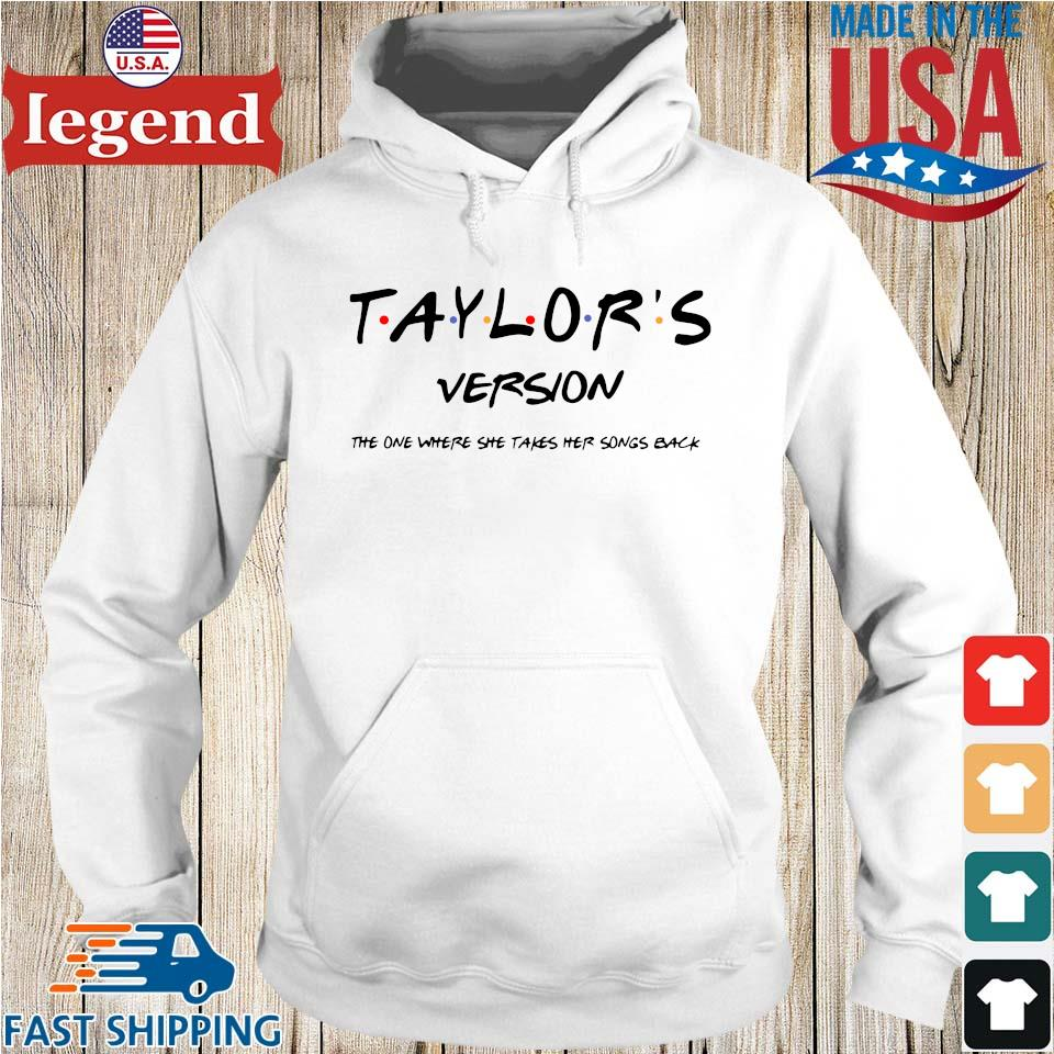 Official taylor's version the one where she takes her songs back Hoodie trang-min
