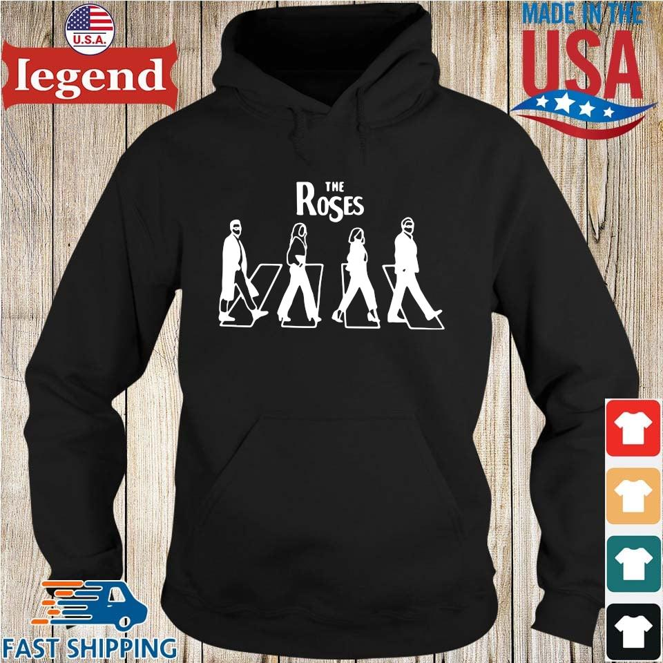 The Roses Abbey Road Shirt Hoodie den-min