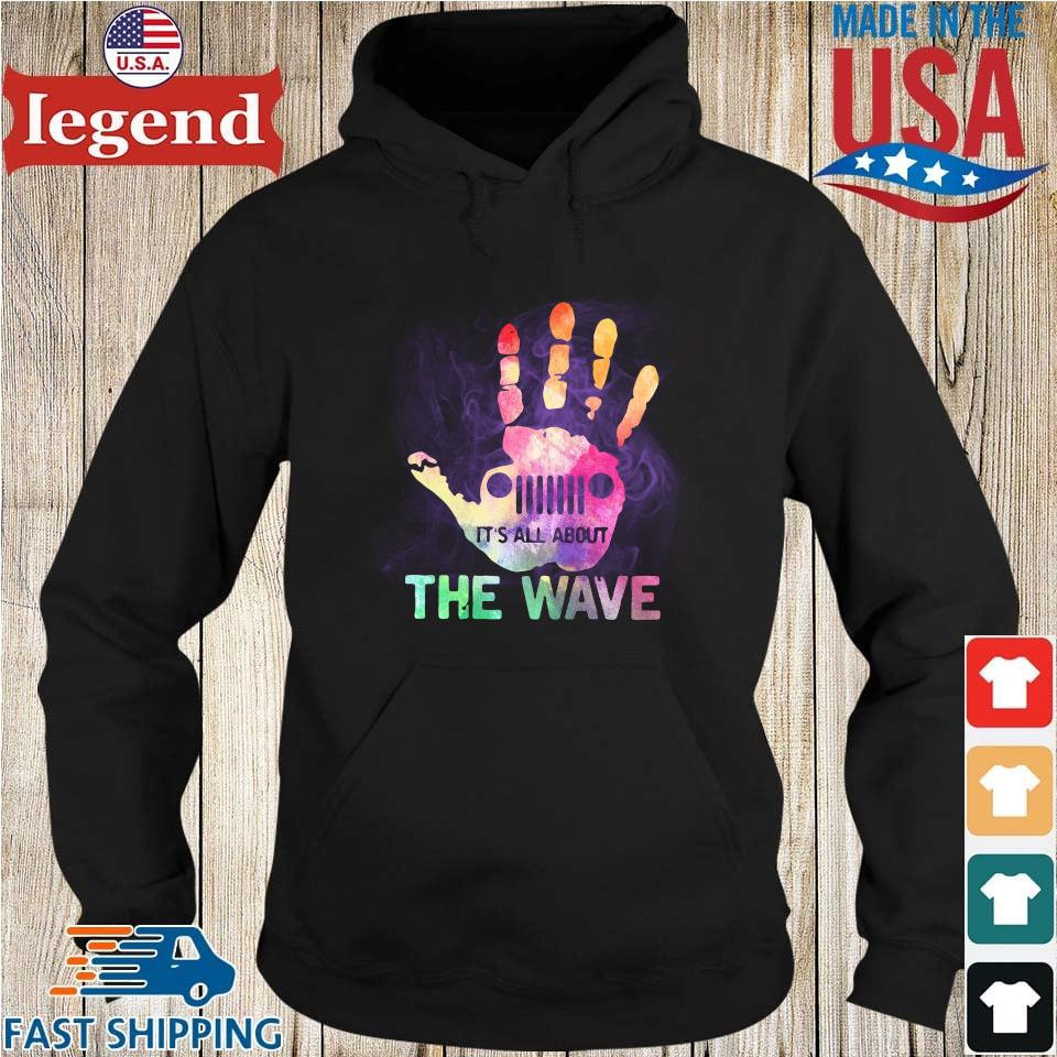 Jeep Hand Wave It's All About Wave Hoodie den-min